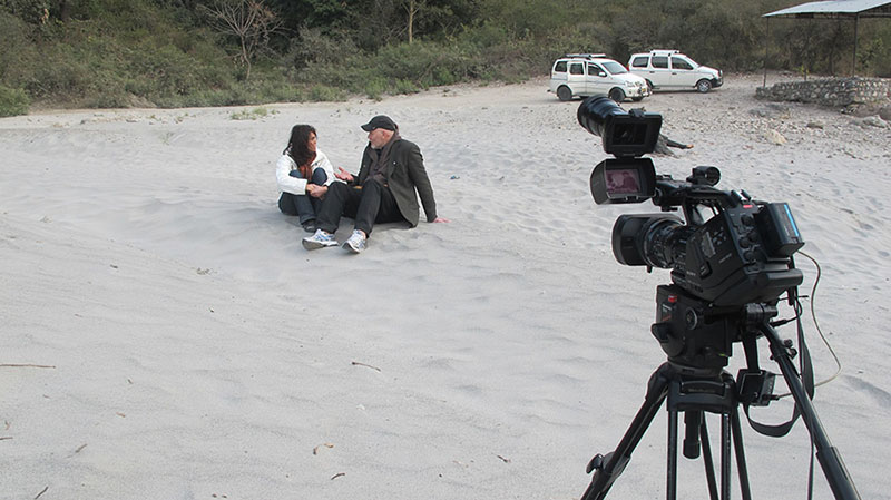 Interview with Steve Hobbs in Rishikesh