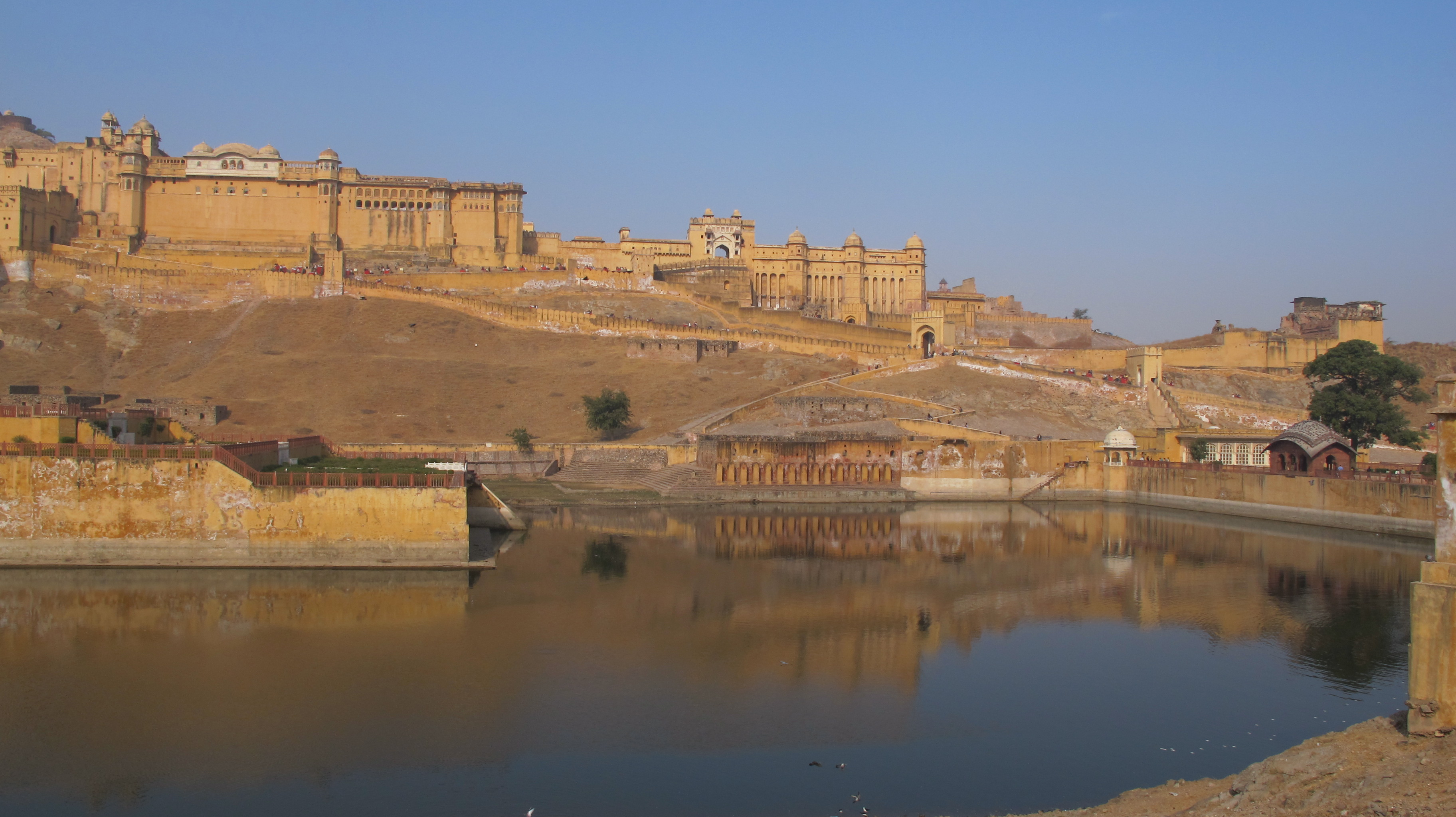 Christmas Eve at Amber Fort in Jaipur